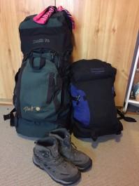 backpack for Mongolia