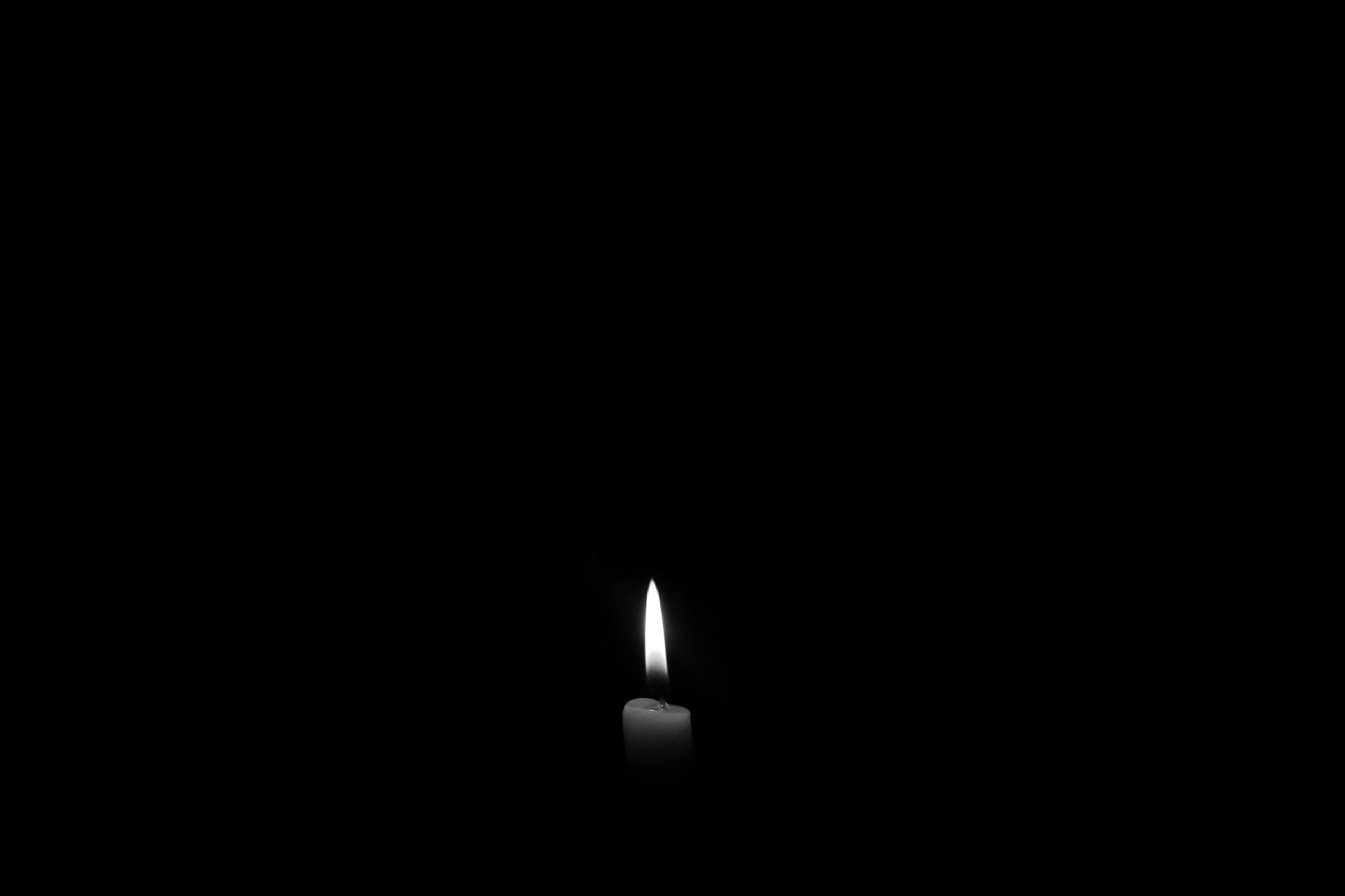 art-black-candle-695644